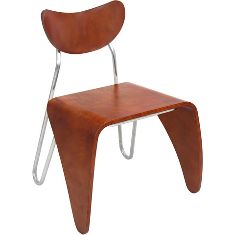 Verdana Chair, Walnut/Grey