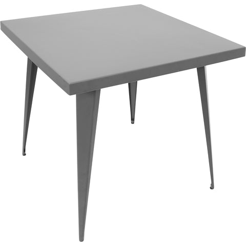 "Austin 32"" x 32"" Dining Table, Matte Grey"