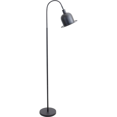 Charlie Floor Lamp, Black/Gold