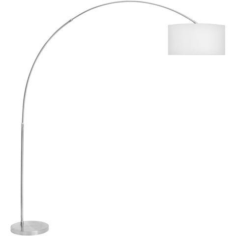 Salon Floor Lamp, White