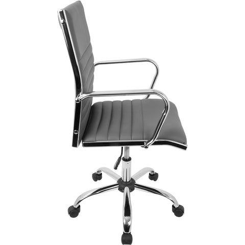 Master Contemporary Office Chair, Grey