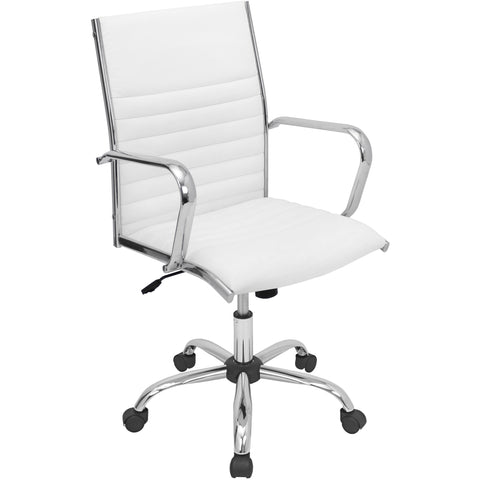 Master Office Chair, White
