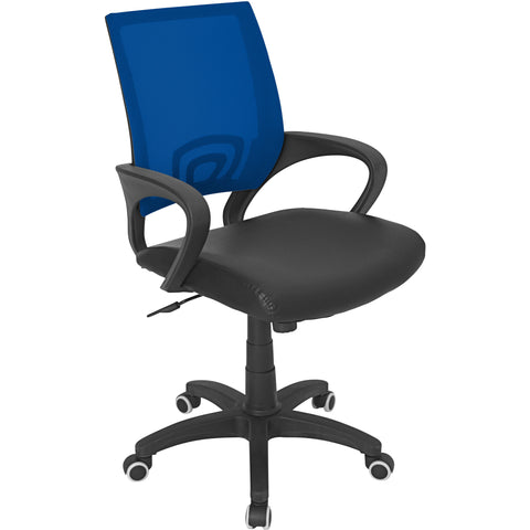 Officer Office Chair, Blue