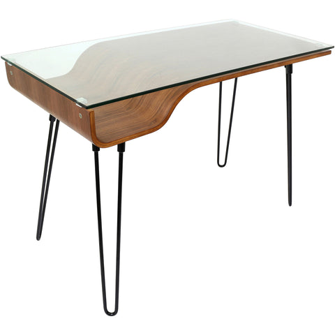 Graphic top exponent desk world map etriggerz avery desk walnut top black frame gumiabroncs Image collections