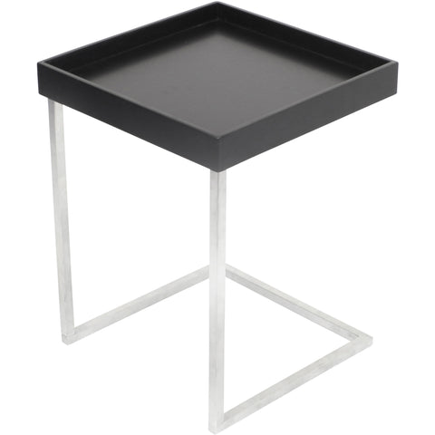 Zenn Tray Table, Black