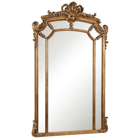 "Antique 30""x48""x2-1/2"" Wall Mirror"