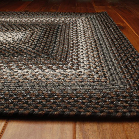 Midnight Moon Braided Indoor/Outdoor Ultra Durable Rectangle Rug