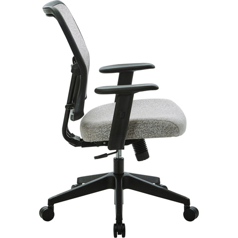 Manager's Chair with Height Adjustable Arms, Latte Fabric