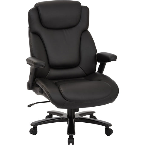 Pro-Line II Big & Tall Deluxe High-Back Executive Chair, Black Bonded Leather