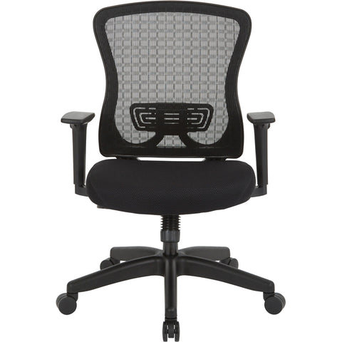 Breathable Mesh Back & Padded Mesh Seat Manager's Chair, CHX Dark