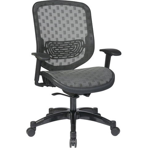 DuraFlex with Flow Through Technology™ Back & Seat Chair, Charcoal
