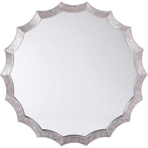OSP Wesley Beveled Mirror, Silver Finish