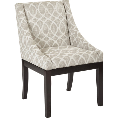 Rockwell Mid-Century Modern Accent Chair, Light Grey
