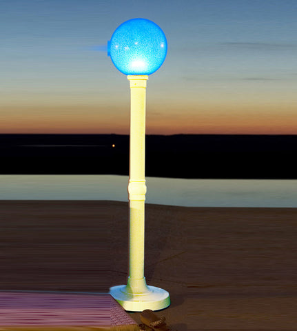 "59"" Portable Color Changing LED Outdoor Floor Lamp"