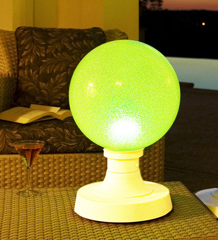 "18"" Portable Color Changing LED Outdoor Table Lamp"