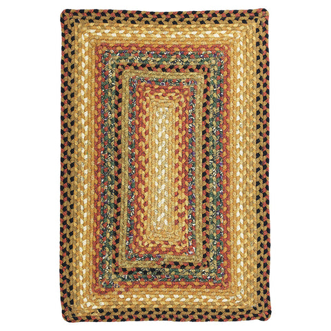 Peppercorn Braided Cotton Rectangle Rug