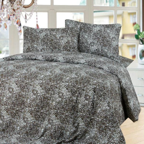 Lavish Home Series 1200 4 Piece Full Sheet Set - Mink