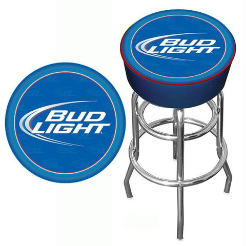 Bud Light Blue Bar Stool