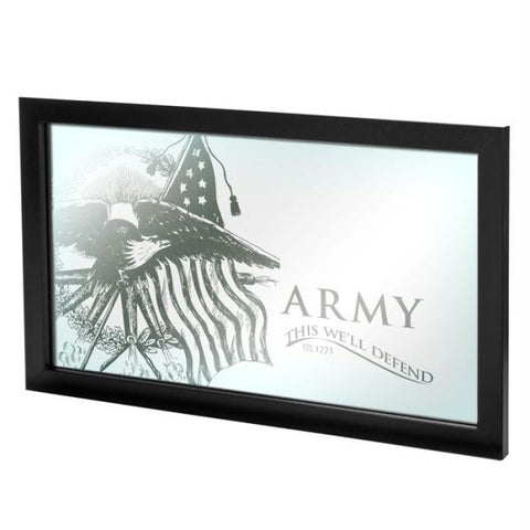 U.S Army This We'll Defend Framed Mirror