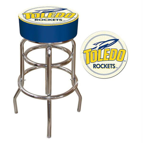 University of Toledo Padded Bar Stool
