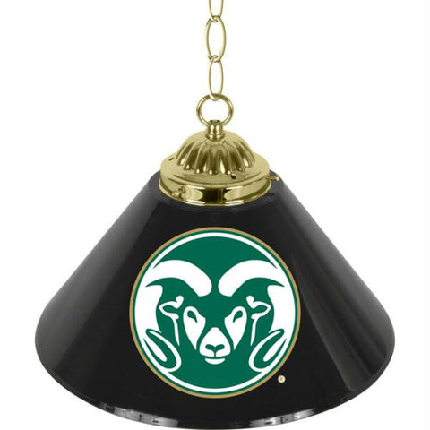 Colorado State University Single Shade Bar Lamp - 14 inch
