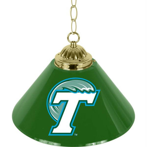 Tulane University Single Shade Bar Lamp - 14 inch
