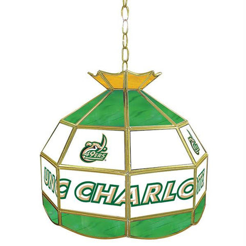 North Carolina Charlotte Stained Glass Tiffany Lamp -16 Inch