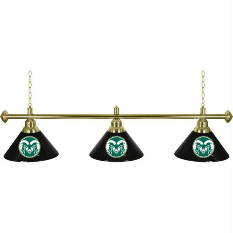 Colorado State University 3 Shade Billiard Lamp - 60 inches