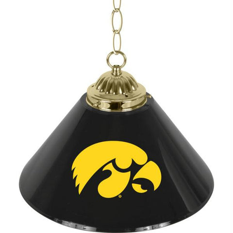 The Iowa University 14 Inch Single Shade Bar Lamp