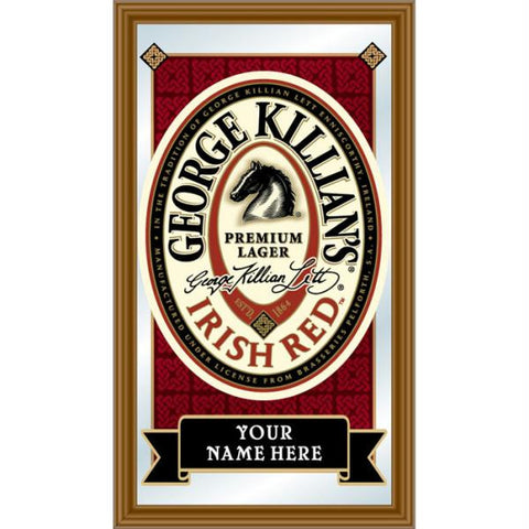 Personalized George Killians Framed Mirror