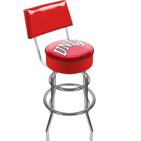 UNLV Padded Bar Stool with Back