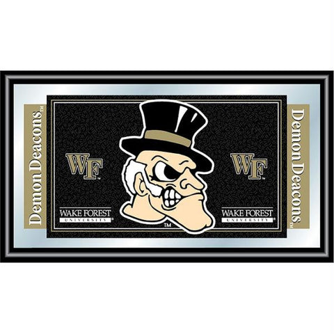 Wake Forest University Logo and Mascot Framed Mirror