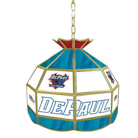 DePaul University Stained Glass Tiffany Lamp - 16 Inch
