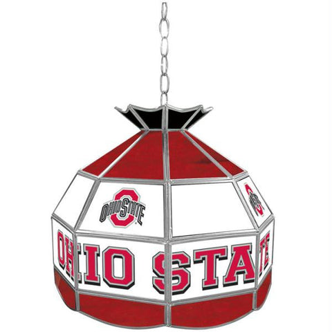 The Ohio State Glass Tiffany Lamp - 16 inch diameter