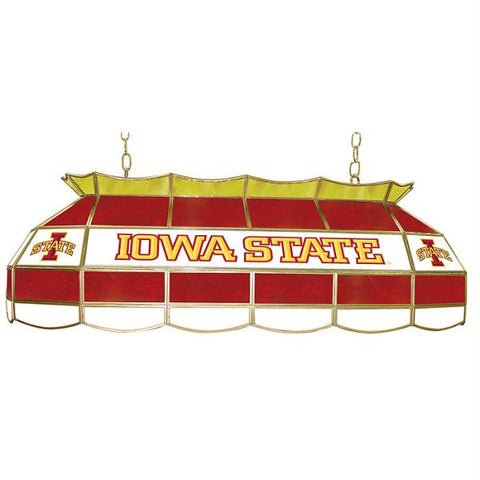 Iowa State University Stained Glass 40 Inch Tiffany Lamp