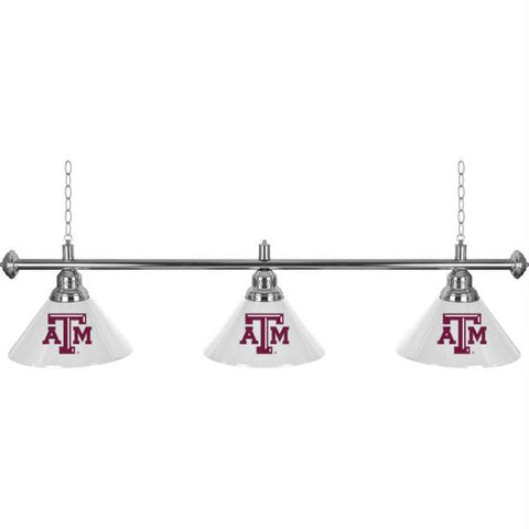 Texas A&M University 3 Shade Billiard Lamp - 60 inches