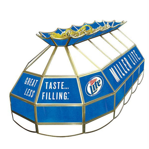 Miller Lite Stained Glass 40 Inch Lighting Fixture