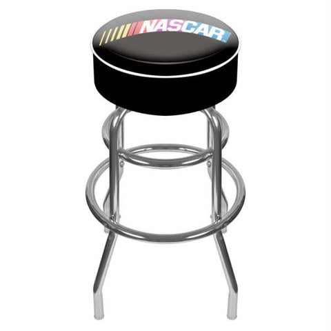 NASCAR  Padded Swivel Bar Stool
