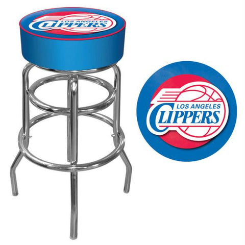 Los Angeles Clippers NBA Padded Swivel Bar Stool