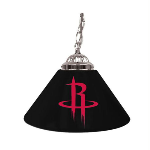 Houston Rockets NBA Single Shade Bar Lamp - 14 inch