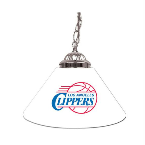 Los Angeles Clippers NBA Single Shade Bar Lamp - 14 inch