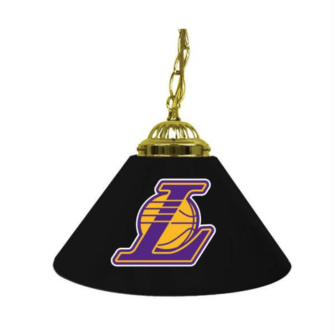 Los Angeles Lakers NBA Single Shade Bar Lamp - 14 inch