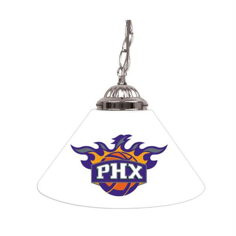 Phoenix Suns NBA Single Shade Bar Lamp - 14 inch