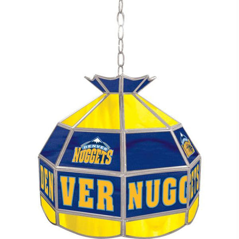 Denver Nuggets NBA 16 inch Tiffany Style Lamp