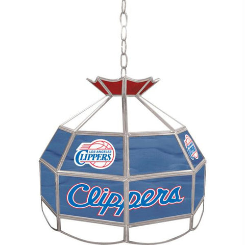 Los Angeles Clippers NBA 16 inch Tiffany Style Lamp