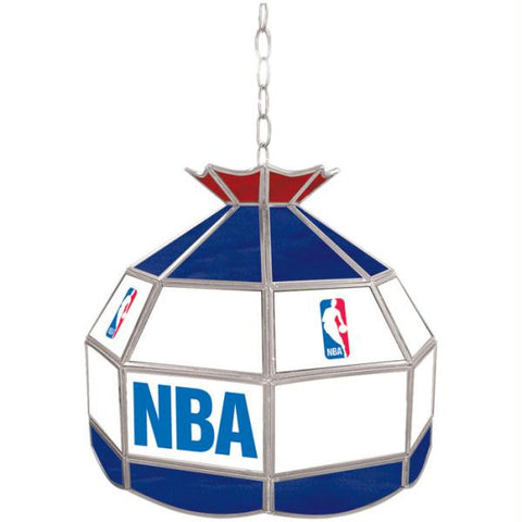 NBA Logo with All Teams 16 inch Tiffany Lamp