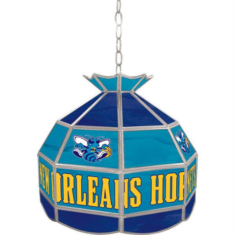 New Orleans Hornets NBA 16 inch Tiffany Style Lamp