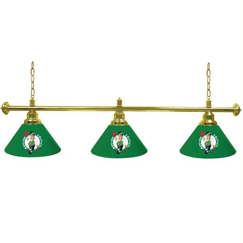 Boston Celtics NBA 3 Shade Billiard Lamp - 60 inch