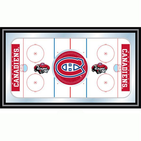 NHL Montreal Canadiens Framed Hockey Rink Mirror