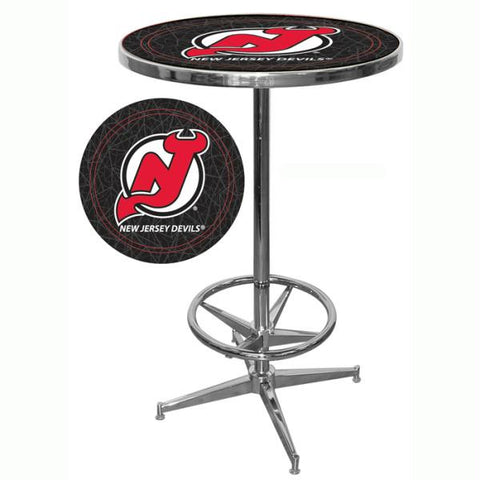 NHL New Jersey Devils Pub Table